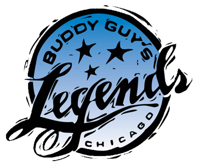 Logo for Buddy Guy's Legends club.