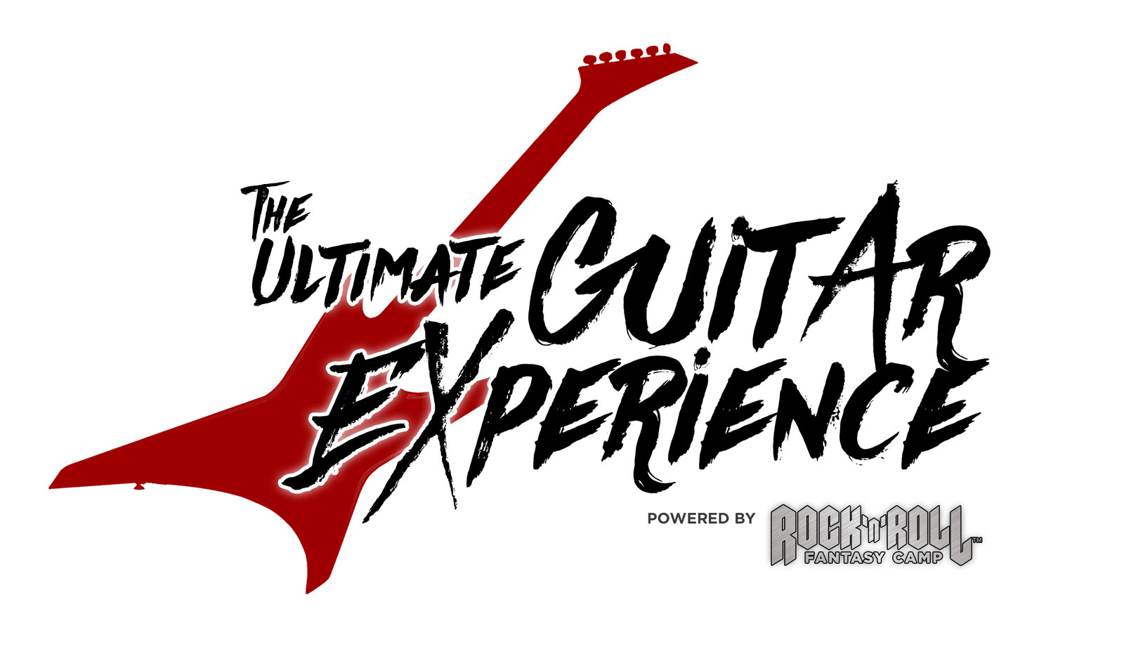 Logo for the Ultimate Guitar Experience.